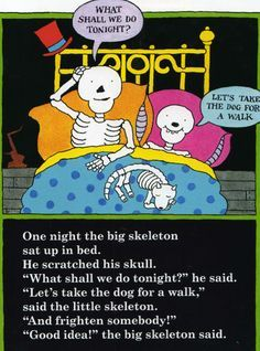 Funnybones By Janet Ahlberg - Skeletons favourite childhood cartoon characters