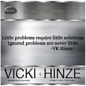 vicki hinze, penny thoughts