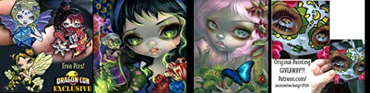 coloring book Archives - Strangeling: The Art of Jasmine Becket ... | 136x540