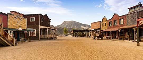 old western town