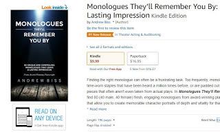 monologue books