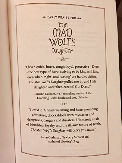 The Mad Wolfs Daughter