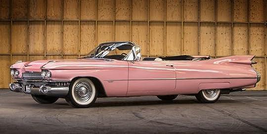 1959 pink cadillac convertible