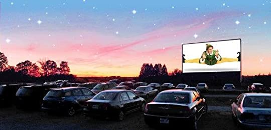 drive in theater at christmas