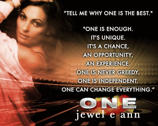 One by Jewel E Ann