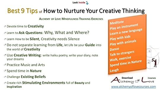 Alchemy of love mindfulness exercises tips to nurture creative thinking