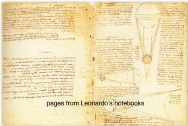 Leonardo-da-Vinci's-notebook