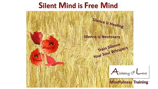 Silent Mind is Free Mind Mindfulness Training Books by Nataša Pantović Nuit