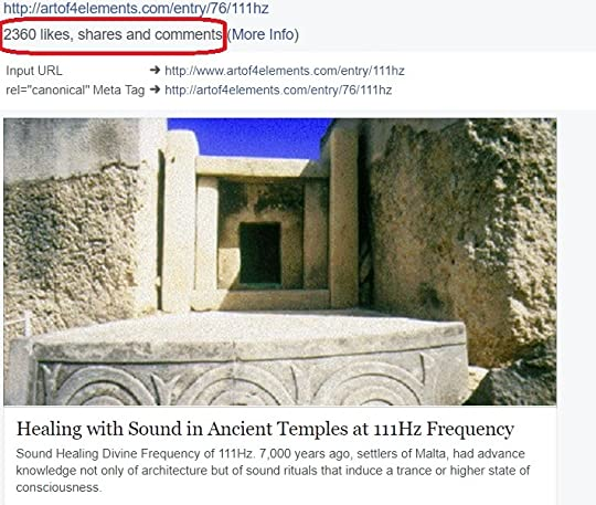 Healing with sound in ancient temples article shared 2360 times