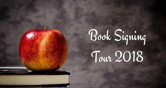 book signing tour 2018