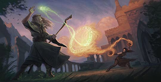 dueling mages