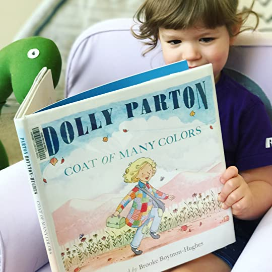 httpsthebabybookwormblogwordpresscom20170917 - Dolly Parton Coat Of Many Colors Book