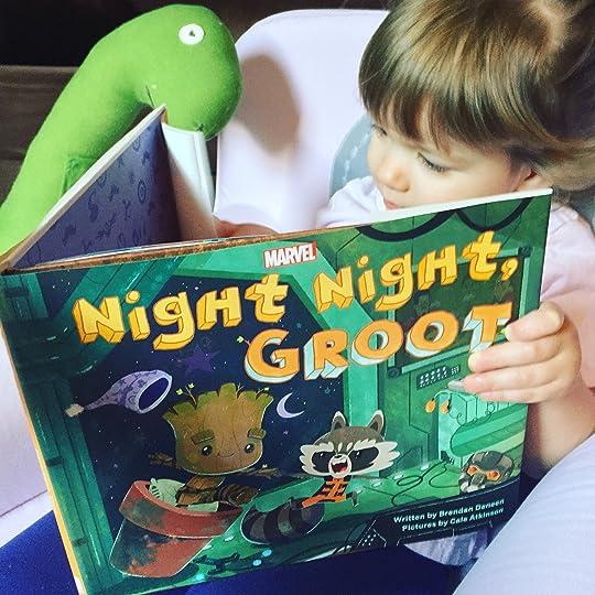 Night Night Groot By Brendan Deneen