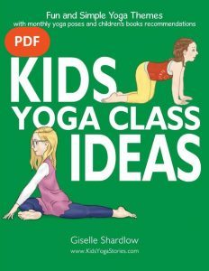 Kids Yoga Class Ideas PDF Download English Image