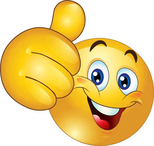 Image result for smiley face and thumbs up