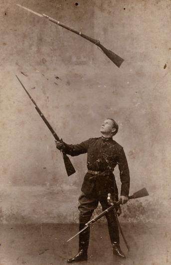 Gun juggling
