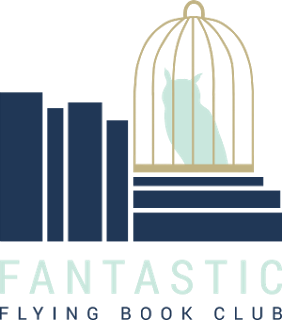 Fantastic Flying Book Club Button