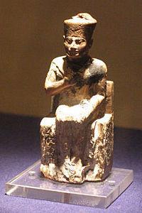Khufu statue