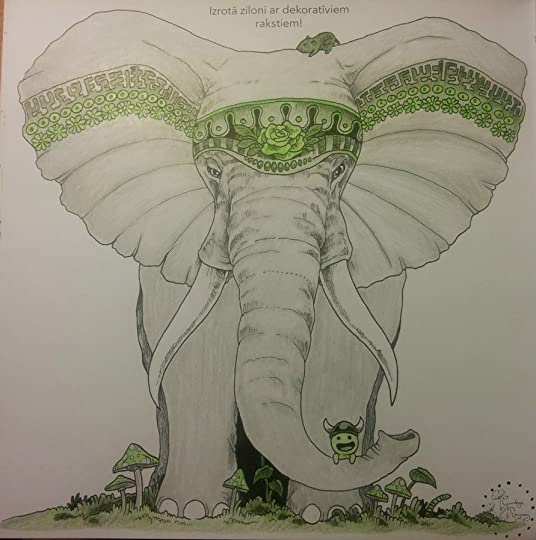 My Lovely Elephant Really Did Turn Out Real Pretty And Elegant Just As I Imagined If Do Say So Myself D