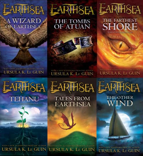 Image result for earthsea series by ursula le guin