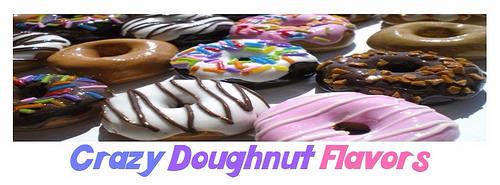 crazy doughnut flavors