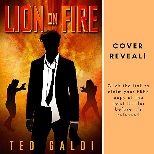 Cover, Lion on Fire by Ted Galdi