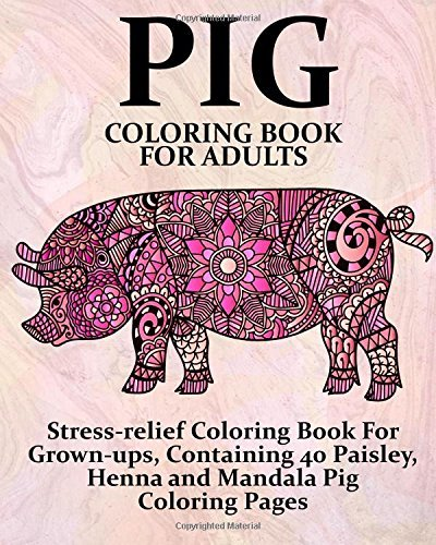 Pig Coloring Book For Adults Download