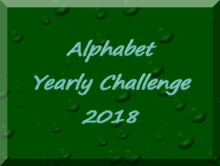 Alphabet Yearly Challenge 2018