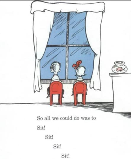 Dr Seuss 'The Cat in the Hat'=sit sit sit