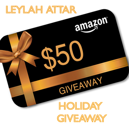 Leylah Attar Holiday Giveaway