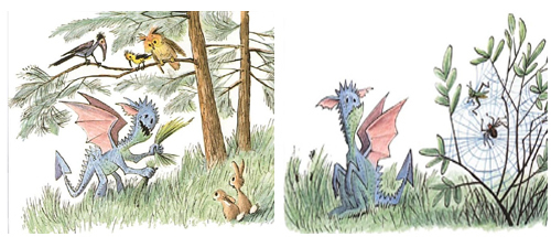 How Droofus the Dragon Lost His Head by Bill Peet