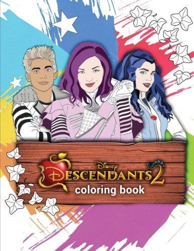 descendants 2 coloring book - Descendants Coloring Book