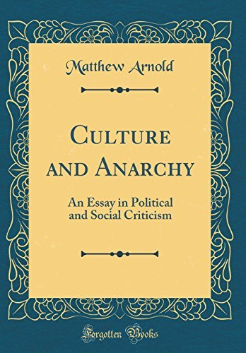 epub dwnlad culture and anarchy pdf audiobook by matthew  culture and anarchy