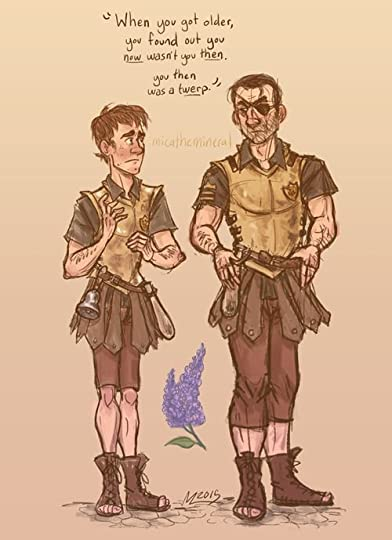 Old and young Vimes