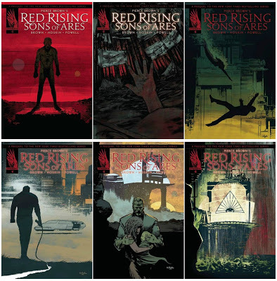 Pierce Brown's Red Rising: Sons of Ares #6 by Pierce Brown