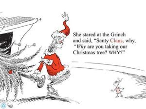 How The Grinch Stole Christmas Book Illustrations.How The Grinch Stole Christmas By Dr Seuss