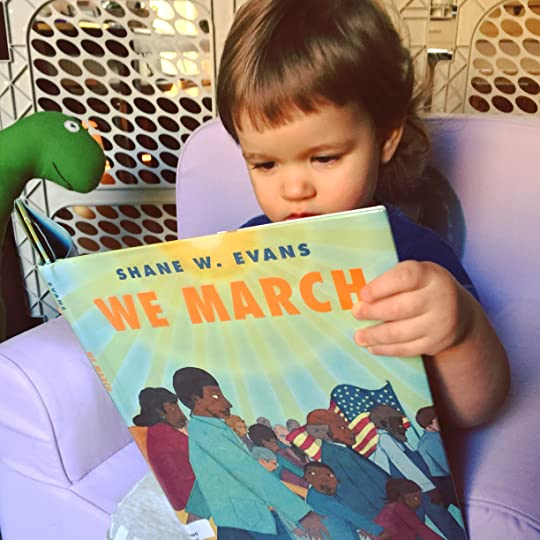 https://thebabybookwormblog.wordpress.com/2017/02/24/we-march-shane-w-evans/