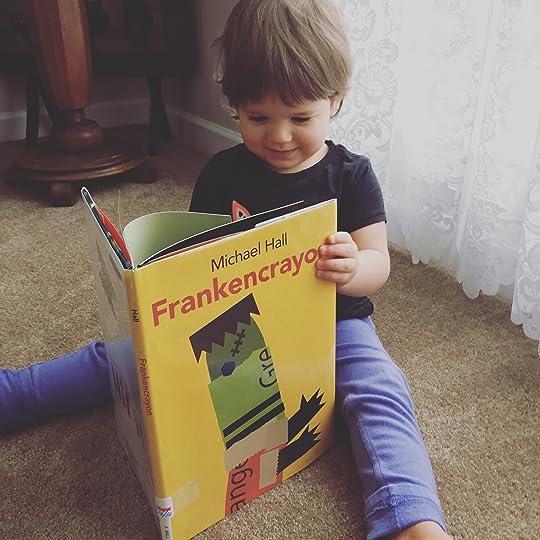 https://thebabybookwormblog.wordpress.com/2017/01/20/frankencrayon-michael-hall/