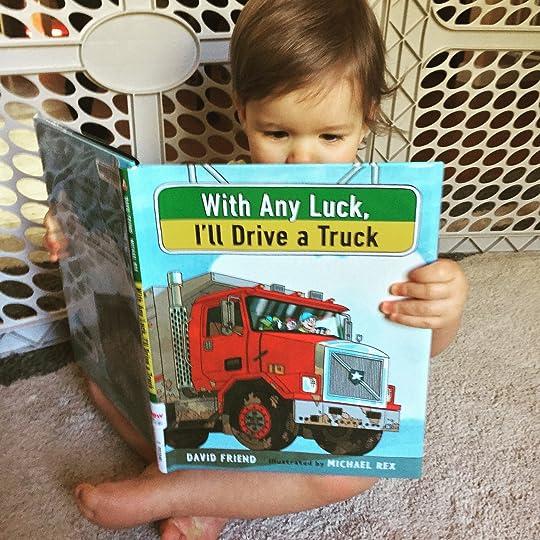 https://thebabybookwormblog.wordpress.com/2016/10/09/with-any-luck-ill-drive-a-truck-david-friend/