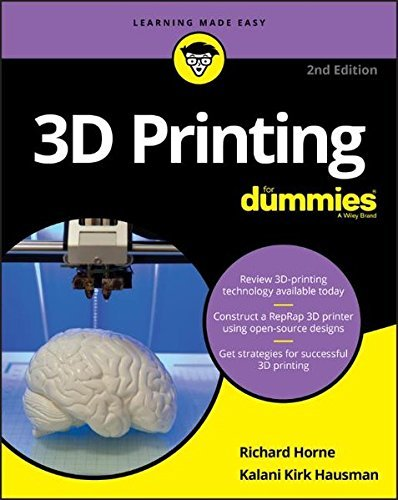 1119386314 - DownIoad 3D Printing For Dummies PDF/AUDIOBOOK By
