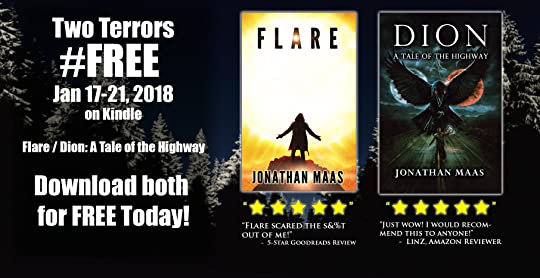 Promo for Dion and Flare - free on Kindle Jan 17-21, 2018