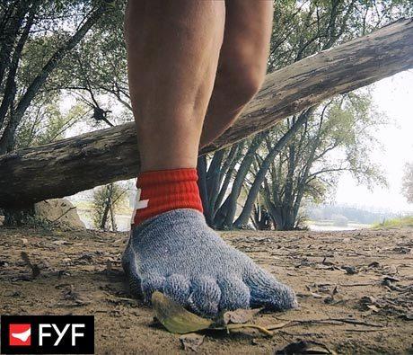 miehen sukat nalle langasta