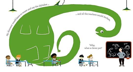 illustration from If I Had a Dinosaur