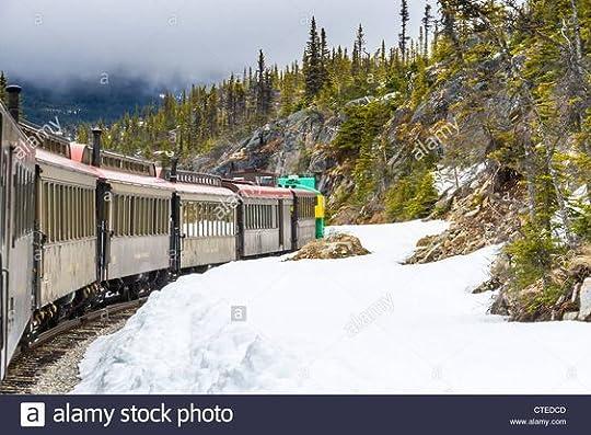 passenger train winter
