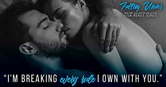 Falling Under by Lisa Renee Jones: Review & Release Day Celebration