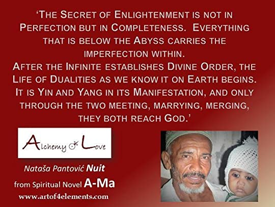 A-Ma and Enlightenment quote from Nataša Pantović Nuit