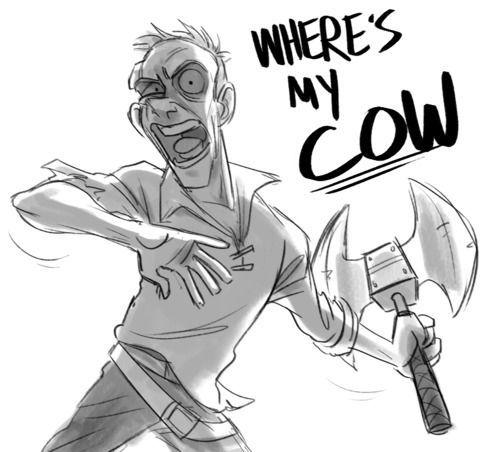 Where's my Cow?!