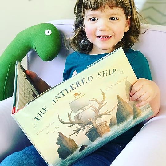 https://thebabybookwormblog.wordpress.com/2018/01/31/the-antlered-ship-dashka-slater/