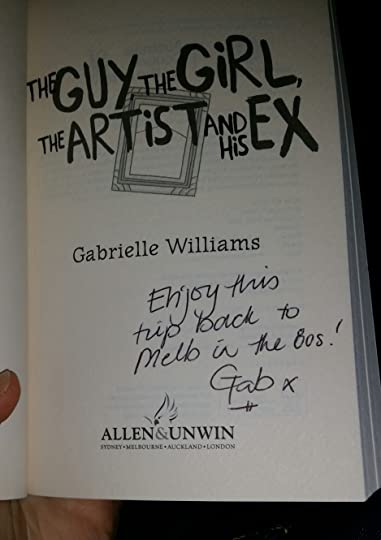 signed by Gabrielle Williams