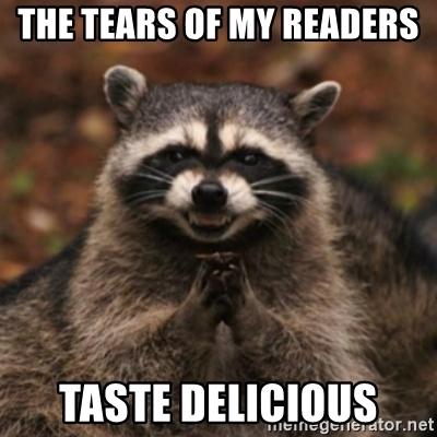 Afbeeldingsresultaat voor tears of my readers